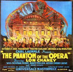 The Phantom of the Opera, starring Lon Chaney