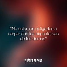 No estamos obligados* #expectativas