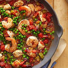 Spanish Rice with Chicken and Shrimp From Better Homes and Gardens, ideas and improvement projects for your home and garden plus recipes and entertaining ideas.