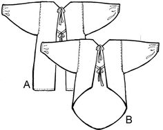 A Fool for Fabric diagram of a kappogi- traditional Japanese apron