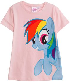 Top med my little pony tryck.