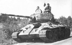 Captured Soviet T-34-85 Tank operated by the Finns. During the Winter War and the Continuation War the Finnish Army often resorted to using captured Soviet equipment,...pin by Paolo Marzioli
