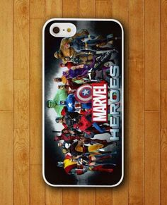 http://www.gajetto.nl , All Marvel Comic Superhero Design iPhone Skin Protector for iPhone 4 4S 5 5S 5C ☻  ☺. ✿