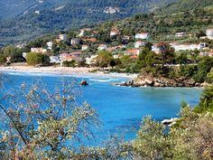 allthingsgreece: Golden Beach - Thassos - Greece (by Best Greek Islands, Greece Islands, Beautiful Sites, Most Beautiful Beaches, Mozambique Beaches, Travel And Tourism, Places Around The World, Beach Resorts, Where To Go