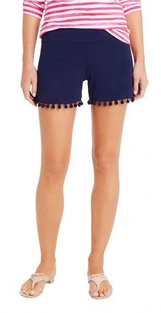 Avila Pompom Shorts by J.McLaughlin