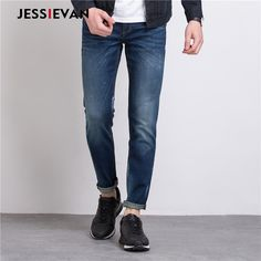 mens summer fashion Jessie Van 2017 Men Hot Brand jeans men high quality straight stretch slim fit cotton jeans homme casual pants denim trousers -- AliExpress Affiliate's buyable pin. Find out more on www.aliexpress.com by clicking the VISIT button