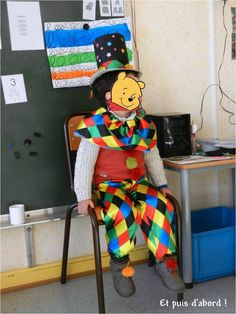 Déguisement de clown - carnaval