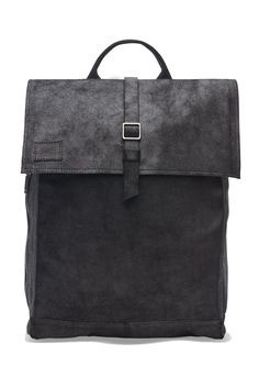 The TOMS canvas and leather Trekker backpack is stylish and ideal for work or school thanks to the interior padded tech pocket. Backpack Online, Men's Backpack, Distressed Leather, Canvas Leather, Toms Bag, Toms One For One, Black Leather Backpack, Leather Backpacks, Black Canvas