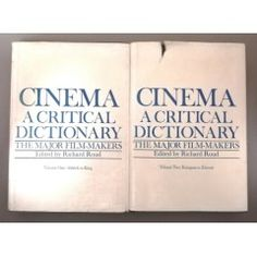 Cinema A Critical Dictionary the Major Film Makers - 2 Volume Set. 1980 in the Other Antiquarian & Collectable category was listed for on 17 Aug at by TomHarvey in Vereeniging Do You Know What, Kinds Of Music, Survival Tips, Listening To Music, Filmmaking, Finding Yourself, Cinema, Thoughts, Movie Theater