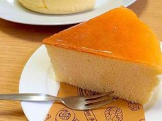 糖質制限スフレチーズケーキの画像