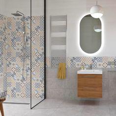 Piastrella Remix 30 x 60 cm sp. 7.4 mm PEI 4/5 multicolore-82487743 Divider, Villa, Room, Furniture, Home Decor, Google, Products, Full Bath, Bathing