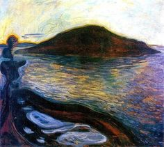 The Island - Edvard Munch 1900-01