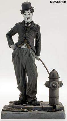 Charles Chaplin: Der Tramp, Statue ... https://spaceart.de/produkte/ccp001.php