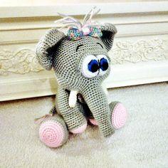 Amigurumi elephant pattern by viktorija dineikiene amigurumi amigurumi elephant pattern by lovely baby gift negle Image collections