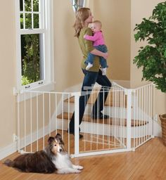 9 Best Extra Long Baby Gate Images On Pinterest Extra Wide Baby