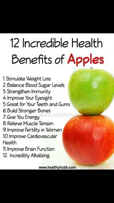12 Incredible Health Benefits of Apples! - - 12 Incredible Health Benefits of Apples! 12 Incredible Health Benefits of Apples!-- without result -->Related Post 10 Sieht aus, als wären Sie zum ersten Mal bereit . Apple Health Benefits, Fruit Benefits, Health Facts, Health Diet, Key Health, Health Yoga, Healthy Tips, Healthy Choices, Healthy Food