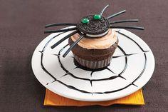 Petits gâteaux « araignées »