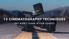 30 Cinematography Techniques You Won't Learn in Film School - Courtesy of cinematographer Dave Berry, here are 13 cinematography techniques that will get you bro - Film Photography Tips, Photography And Videography, Film Class, Documentary Filmmaking, Film Tips, Camera Techniques, Digital Film, Film Studies, Film School