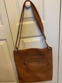 1520e7dfe7ae41 Large, light brown purse with gold accents. Never used, in perfect  condition. Handbags and Purses