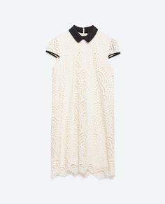 LACE DRESS - View all - Dresses - WOMAN | ZARA Czech Republic