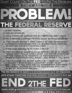 ..END THE FED!!!!!! INFOWARS.COM  BECAUSE THERE'S A WAR ON FOR YOUR MIND