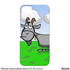 Old goat cartoon phone case iPhone 5 case