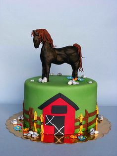 now I have to find someone to make this. Western Cakes, Cowboy Cakes, Fondant Cakes, Cupcake Cakes, Cupcakes, Fondant Recipes, Horse Party, Cowgirl Party, Gorgeous Cakes