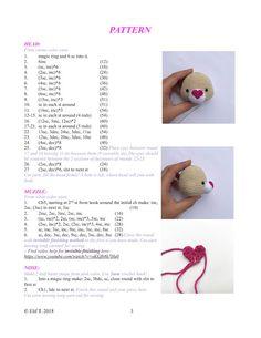 Crochet Cat Pattern, Crochet Diy, Easter Crochet, Crochet Bear, Crochet Patterns Amigurumi, Crochet Animals, Newborn Toys, Baby Toys, Crochet Clothes