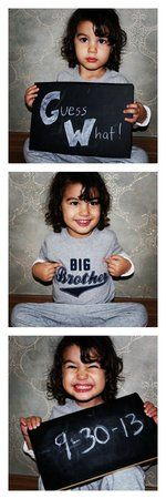 Big brother announcement! Second Pregnancy Announcements, Thanksgiving Pregnancy Announcement, Baby Announcement Pictures, Baby Boy Pictures, Baby Photos, Big Brother Announcement, Little Mac, Baby Center, Everything Baby