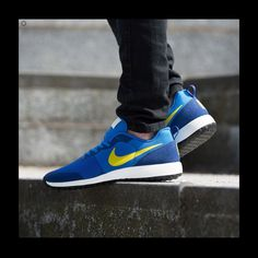 newest 868b1 beda1 Nike Shoes   Nike Elite Shinsen Casual Men S Shoes   Color  Blue Yellow    Size  7.5
