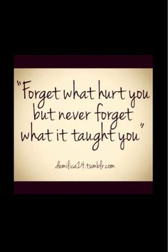 Sayings: Lessons learned