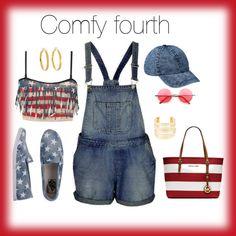 """""""Comfy Fourth"""" by fashionista-shawnte on Polyvore"""