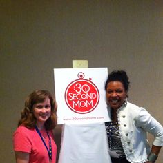 "Jenp_kidsauthor: ""The fab @joaniplenty w/new #30SecondMom friend, @jendisjournal of @vloggingtips at #SheStreams"""
