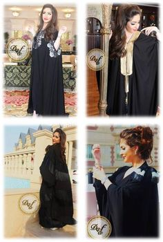 abaya styles- love the top two