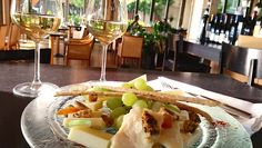 How about a stop for a quick bite and a glass of selected wine at Daios Bar Restaurant? Resort Villa, Thessaloniki, Restaurant Bar, Hotels, Wine, Glass, Food, Drinkware, Corning Glass