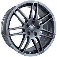 RTX Wheels - RTX OE - Ingolstadt Gunmetal Grandeur/Size : 17X7.5 / 18X8 http://www.rtxwheels.com/en/wheels/rtxwheels-ingolstadt-gunmetal