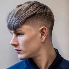 """Men's Hair, Haircuts, Fade Haircuts, short, medium, long, buzzed, side part, long top, short sides, hair style, hairstyle, haircut, hair color, slick back, men's hair trends, disconnected, undercut, pompadour, quaff, shaved, hard part, high and tight, Mohawk, trends, nape shaved, hair art, comb over, faux hawk, high fade, retro, vintage, skull fade, spiky, slick, crew cut, zero fade, pomp, ivy league, bald fade, razor, spike, barber, bowl cut, 2018, hair trend 2017, men, women, girl, boy…"""""""
