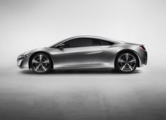 The ACURA NSX3...looks so Mission Impossible...I plan to sit in this baby when the NY Auto Show opens next month!