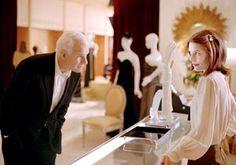 Steve Martin and Claire Danes in Shopgirl.