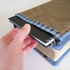 Bible cover notebook pocket