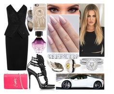 """""""Samedi 05 Septembre 2015 Soir (20H)"""" by laurie-bieber ❤ liked on Polyvore featuring De Beers, Victoria's Secret, Tamara Mellon, Giuseppe Zanotti, Yves Saint Laurent, Ferrari, Casetify, Tiffany & Co. and AS29"""