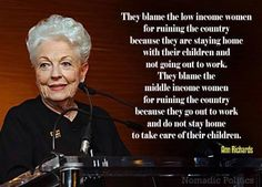 I love Ann Richards!