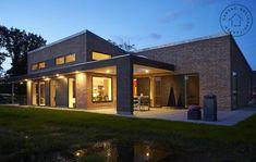 Facade Design, Architecture Design, House Design, Villa, Container Architecture, Dream House Exterior, Scandinavian Living, Home Fashion, House Plans