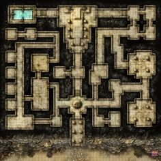 Welcome to Desert Dungeon, a battlemap, free and ready for you to populate and use within your own games. This one is hi res, no grid only and designed specifically for your virtual tabletop games. Virtual Tabletop, Tabletop Rpg, Tabletop Games, Dungeon Tiles, Dungeon Maps, Dungeons And Dragons Homebrew, D&d Dungeons And Dragons, Fantasy Places, Fantasy Map