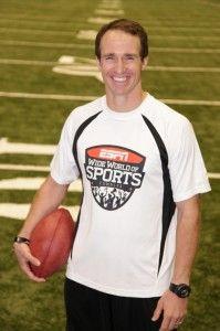 NFL Star Drew Brees