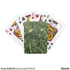 Pretty Daffodils Playing Cards