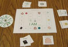 """I AM – Names for Jesus"" Printable Game"