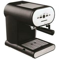 Espressor Heinner Soft Cream HEM-250, Putere 1050 W, Capacitate 1L, Presiune 15 bari, (Negru-Inox)