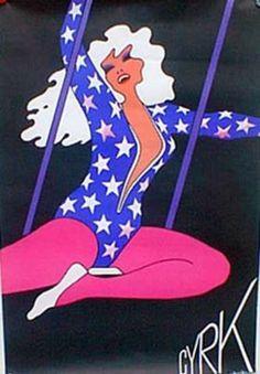 70s Polish Circus poster