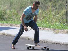 Skate flip flops